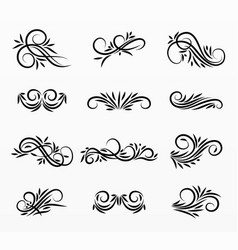 border and frames set collection vector image