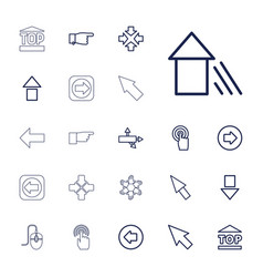 Cursor icons vector