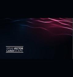 eps 10 blockchain technology background vector image