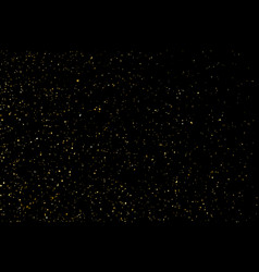 Golden stardust vector