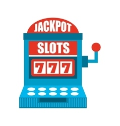 Jackpot winner isolated icon design vector