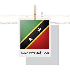 Photo of saint kitts and nevis flag vector