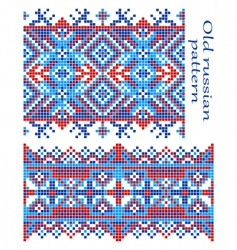 old Russian pattern vector image vector image