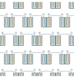 Battery pattern vector
