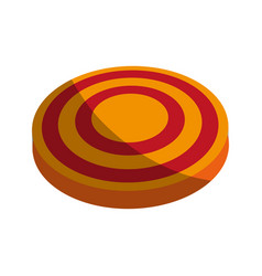 Bullseye board icon image vector