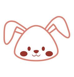 cute bunny icon image vector image