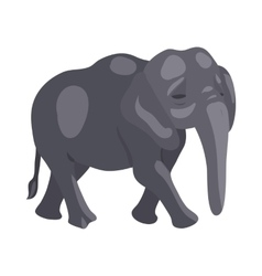 Elephant icon cartoon style vector image