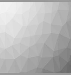 grey polygonal background rumpled triangular vector image