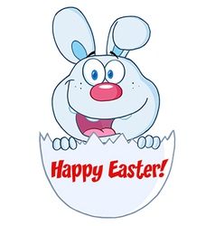 Happy Easter cartoon vector image