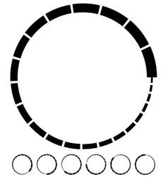 Preloader buffer symbol elements circular vector