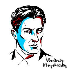 Vladimir mayakovsky vector