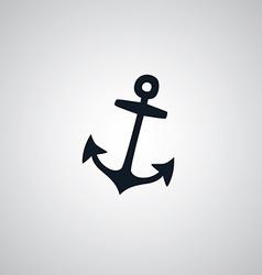 Pirate anchor flat icon theme vector