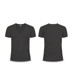 T-shirt Design template women and men vector image
