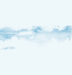 Blue sky and clouds abstract design vector