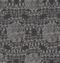 pattern East vector image
