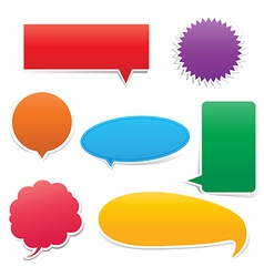 Set of Speech bouble vector image