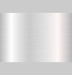 Silver plate with highlights vector