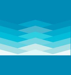 zigzag sea wave vector image