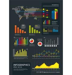 infographics set vector image