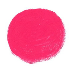 Pink acrylic paint circle vector image vector image
