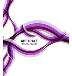 Purple waves modern business abstract background vector image vector image