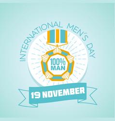 19 november international men s day vector