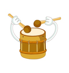 A playing drum vector