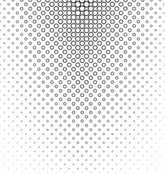 Abstract monochrome circle pattern design vector