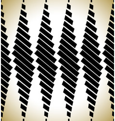 Abstract pattern with rectangles bars repeatable vector