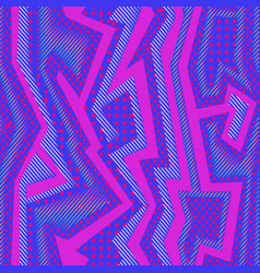 abstract pink cloth pattern vector image
