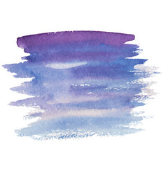Abstract watercolor brush strokes vector