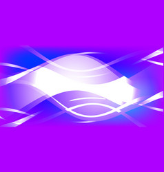 background of white waves vector image