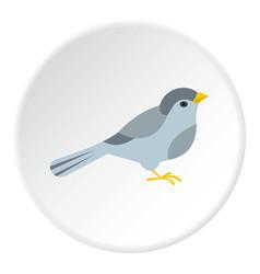 Bird icon circle vector