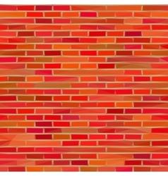 Brick Wall Low Poly vector image
