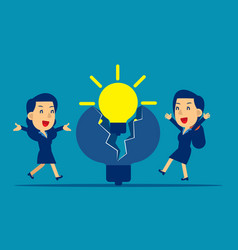 business new ideas concept business vector image