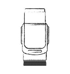 Isolated shaver design vector image vector image