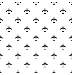 Plane pattern simple style vector