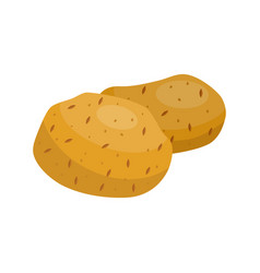 potatoes icon vector image