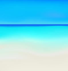 Sea beach vector image