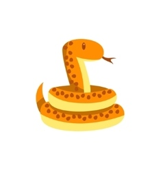 Toy Boa Snake vector