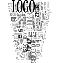 Your image is important text word cloud concept vector