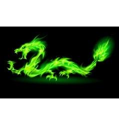 Dragon 2012 NT Green 01 vector image