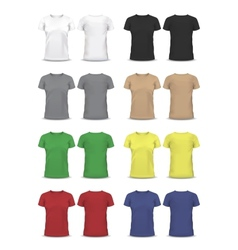 T-shirt Design template raglan sleeve vector image