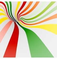 Colorful twisted shape for background of sweets vector image