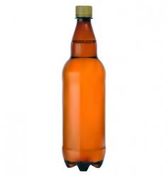 plastic bottle vector image