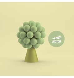 Abstract tree Concept for business social media vector image