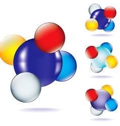 atom four vector image