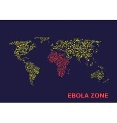 Ebola zone vector
