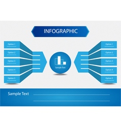 Elements of Infographics vector image