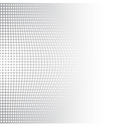 Grey and white halftone background vector
